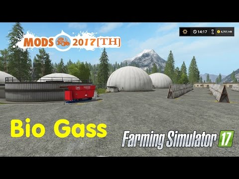 Farming Simulator 17 #ทำ Bio Gass