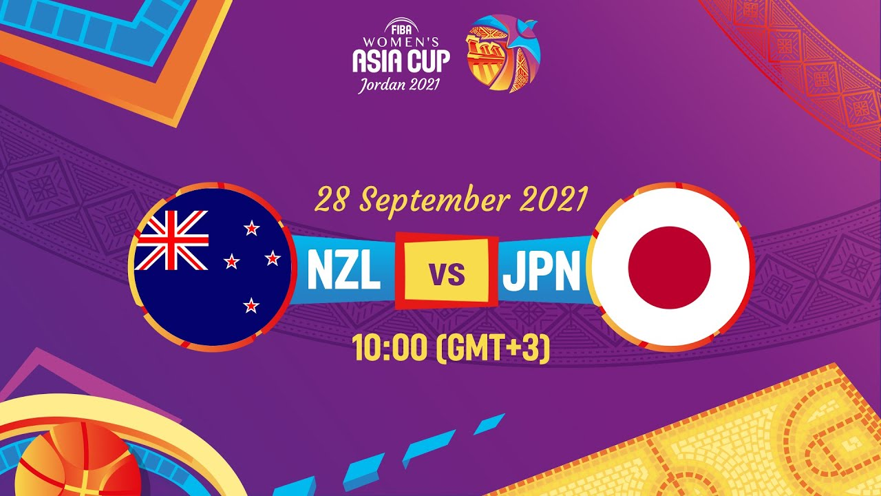 New Zealand v Japan   Full Game   FIBA Women's Asia Cup 2021 - Division A