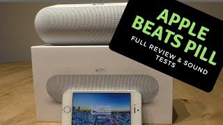 Beats Pill Plus : + Review and real life sound tests. 2018