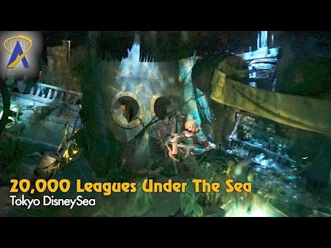 20,000 Leagues Under the Sea Low-Light POV Tokyo DisneySea