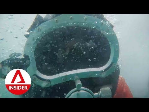 Risky Jobs: Diving Into Danger To Care For Ships