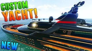GTA Online: $10 MILLION CUSTOM YACHT GAMEPLAY! (GTA 5 DLC Super Yacht)
