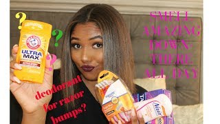 Feminine Hygiene Routine | smell amazing at all times *highly requested*