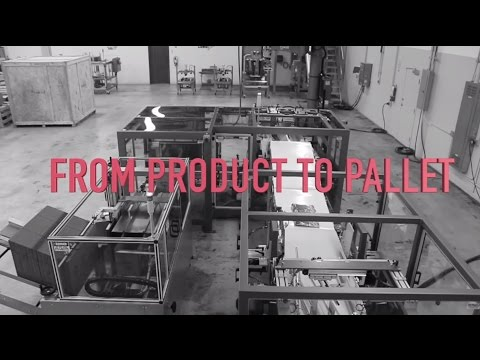 Complete Automated Packaging Machine Solution - From Product To Pallet