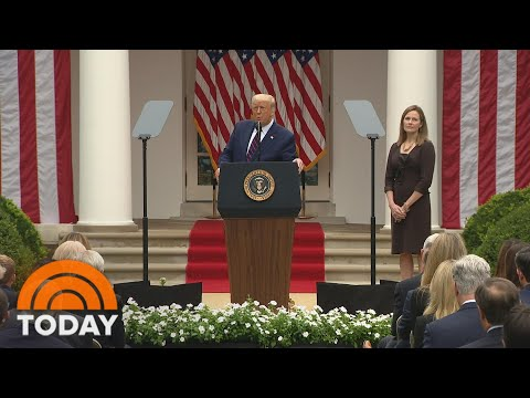 White House Pushes For Quick Confirmation Of Amy Coney Barrett | TODAY