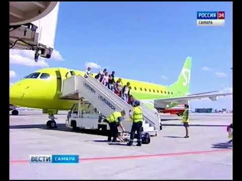 Компания S7 открыла прямые авиаперелеты из Самары в Новосибирск