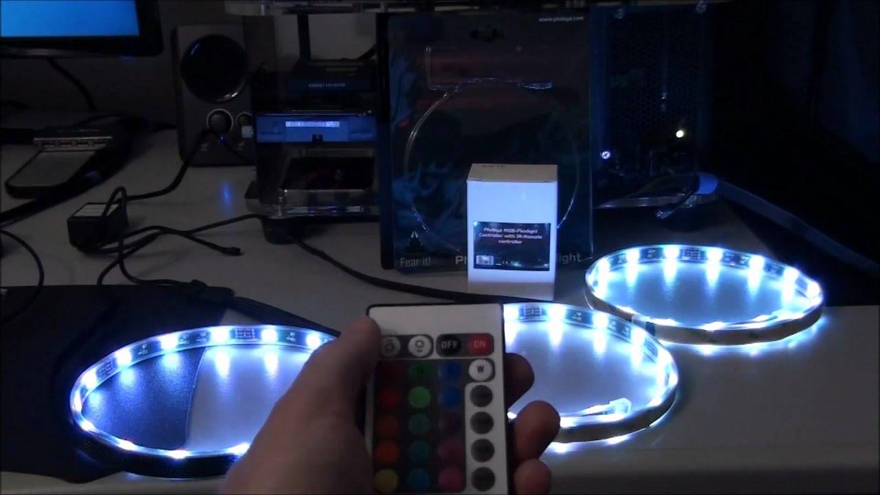 & Phobya RC RGB PC Lighting System Review - YouTube azcodes.com