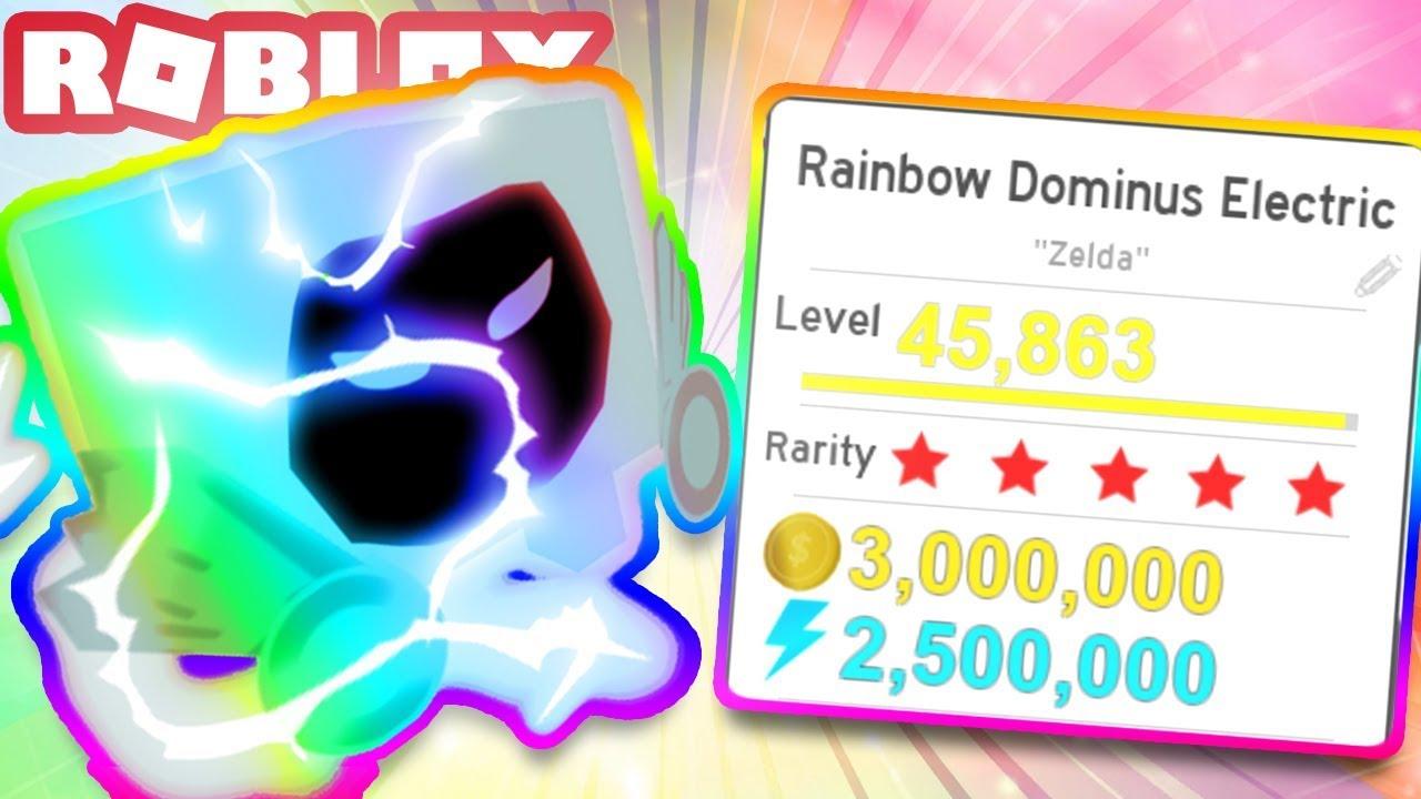 RAINBOW DOMINUS ELECTRIC! ???? | Roblox Pet Simulator