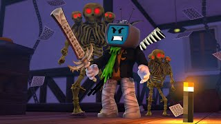 Roblox Hunted Skeleton Pack Gameplay