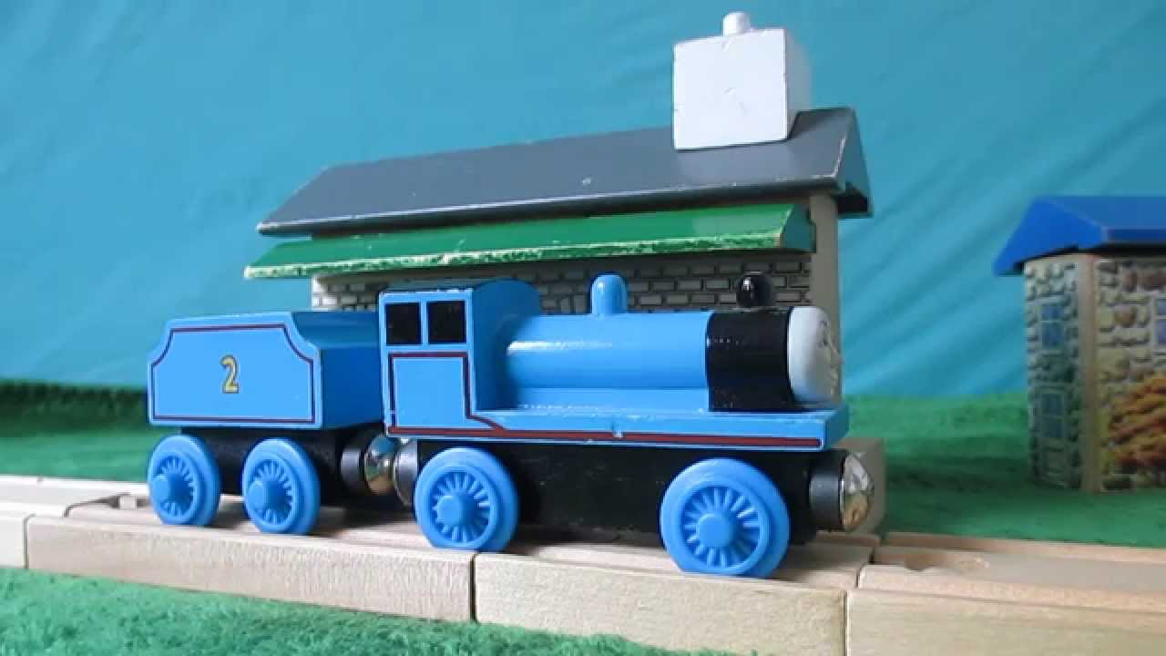 1996 Edward The Blue Engine Wooden Thomas Review