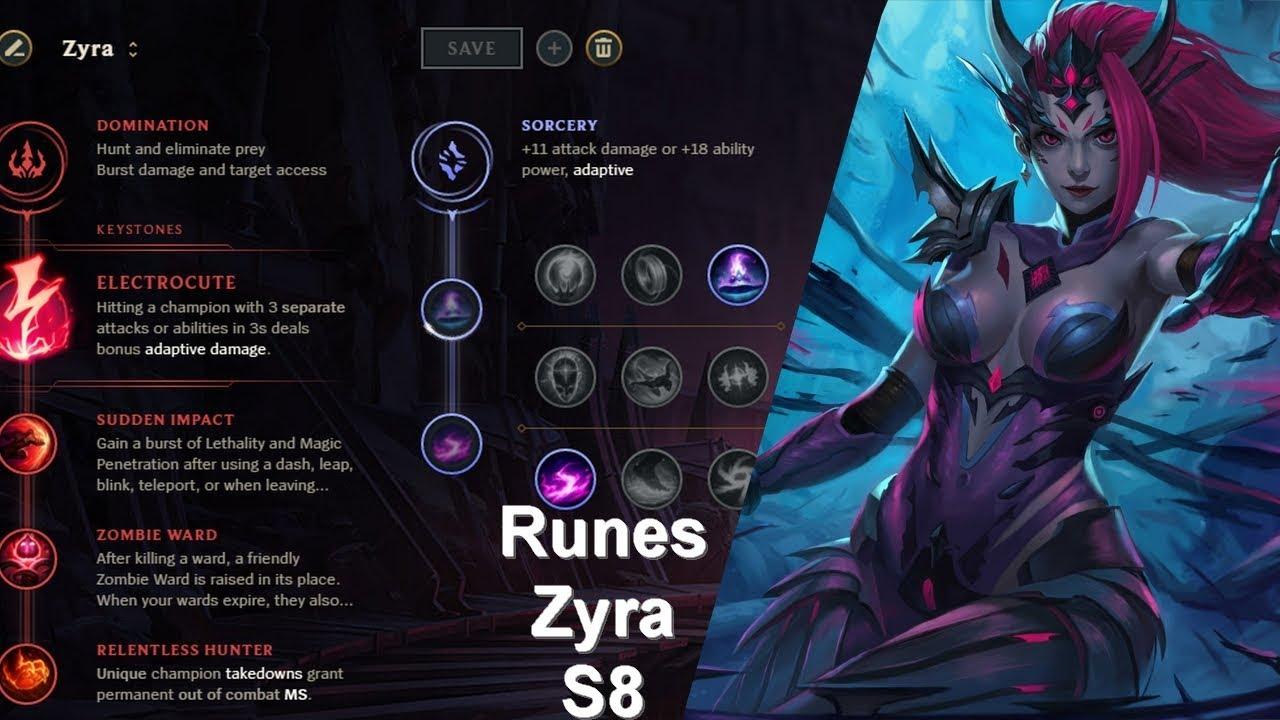 vente chaude en ligne e6f84 d734c Runes S8 selon Polochon : Zyra