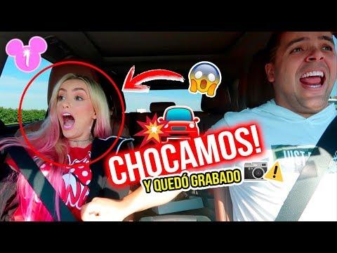 BROMA CRUEL: CHOCAMOS VÍA A DISNEY!!!😱  | 16 Ene 2019