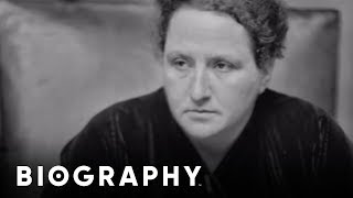 Biography: Gertrude Stein Mini Bio thumbnail
