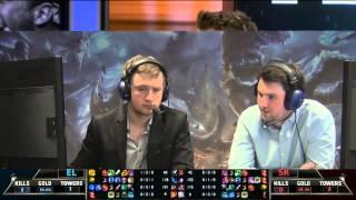 EU LCS Woche 3 Tag 2 - Elements vs SK Gaming