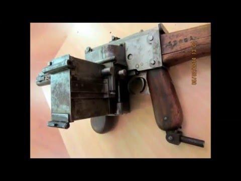 Mystery WW1 German Submachine Gun
