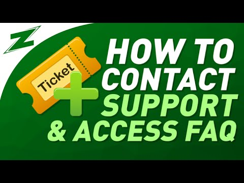 How To View Frequently Asked Questions And Submit A Support Ticket Correctly