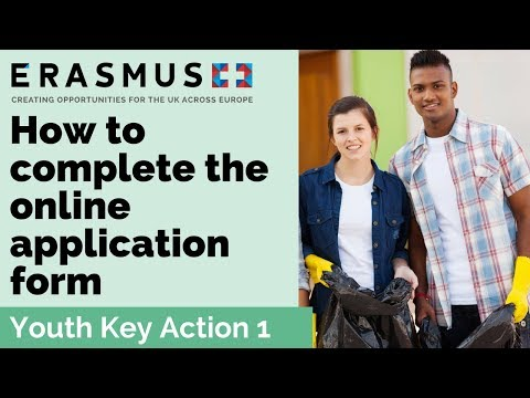 2017 Call Webinar: Youth Key Action 1 - Completing the application form