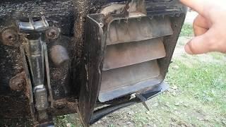 Вентиляционный клапан кузова автомобиля.