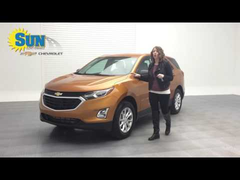 Check out the All New 2018 Chevy Equinox at Sun!
