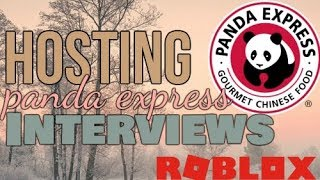 Hosting ROBLOX Panda Express Interviews! | n_qs