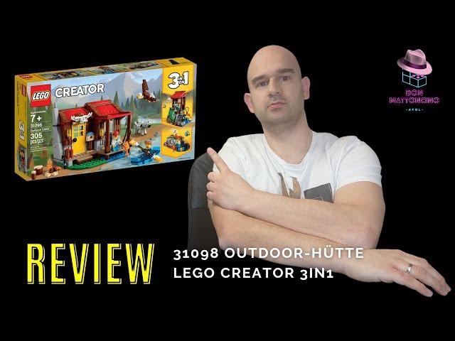 Empfehlung für das Naherholungsgebiet einer Lego Stadt   31098 Outback-Hütte   LEGO Creator 3-in-1