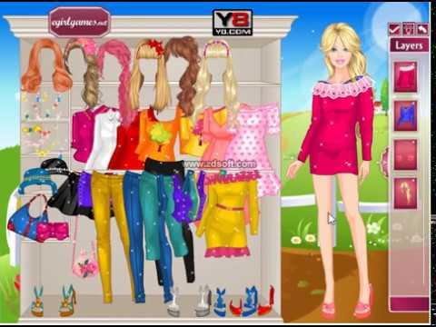 jogos online gr tis para meninas barbie f rias de primavera youtube. Black Bedroom Furniture Sets. Home Design Ideas