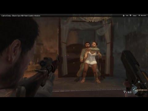 Call of Duty : Black Ops Kill Fidel Castro mission