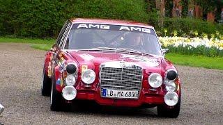 Mercedes 300 SEL 6.3 AMG Start Up´s, revs & sound HD
