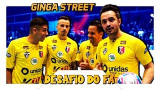 Falcão e Fãs VS Ginga Street!