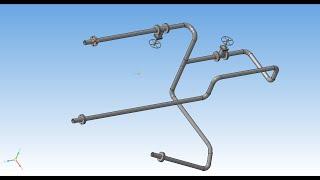 Трубопровод Компас-3D V16.1