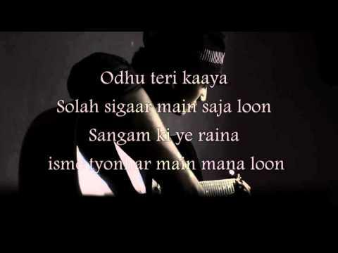 O Siyyaan   Aagnipath Karaoke