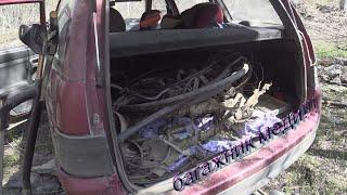 ПОЛНЫЙ багажник МЕДИ и 1670 кг металла за 2 дня!!! Удачный металлокоп. Архив.
