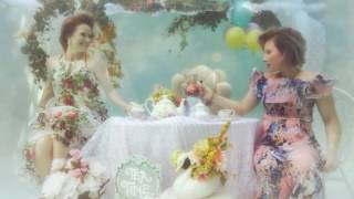Underwater Tea Party Photo Shoot