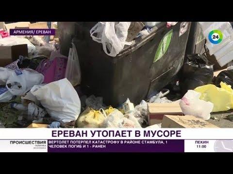 Вонь – нестерпимая: Ереван утопает в мусоре