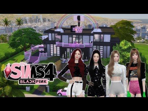 THE SIMS 4 BLACKPINK | เปิดบ้าน BLACKPINK HOUSE2019