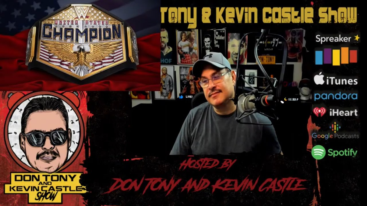 Don Tony And Kevin Castle Show 7/6/20: Heath Slater Appears On Raw; New WWE US Title Design + More