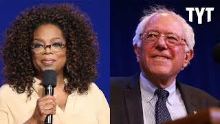 """Corporate """"Journalists"""" Down With Oprah 2020 But Not Bernie!"""