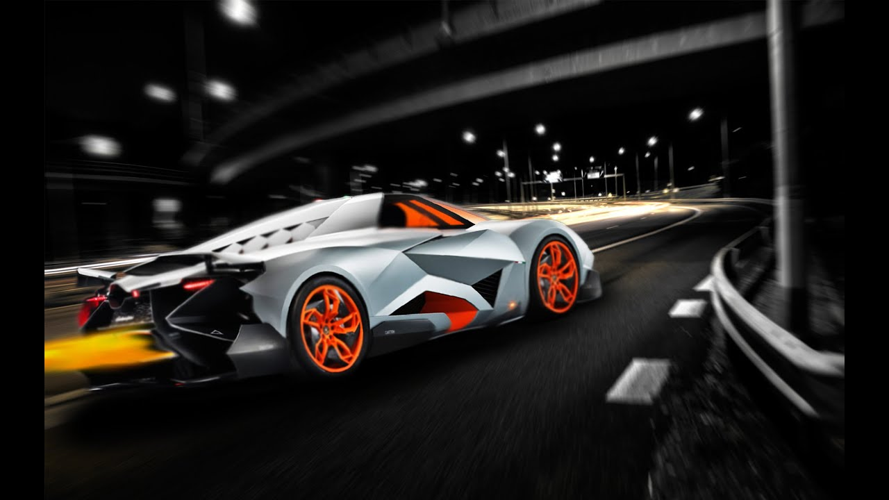 Speed Cars Lamborghini Egoista Futuristic Birthday 2016   YouTube