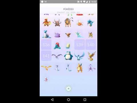 Pokemon Go: Legendary Pokemon Pokedex Entries