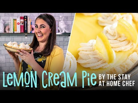 How to Make Old Fashioned Lemon Cream Pie