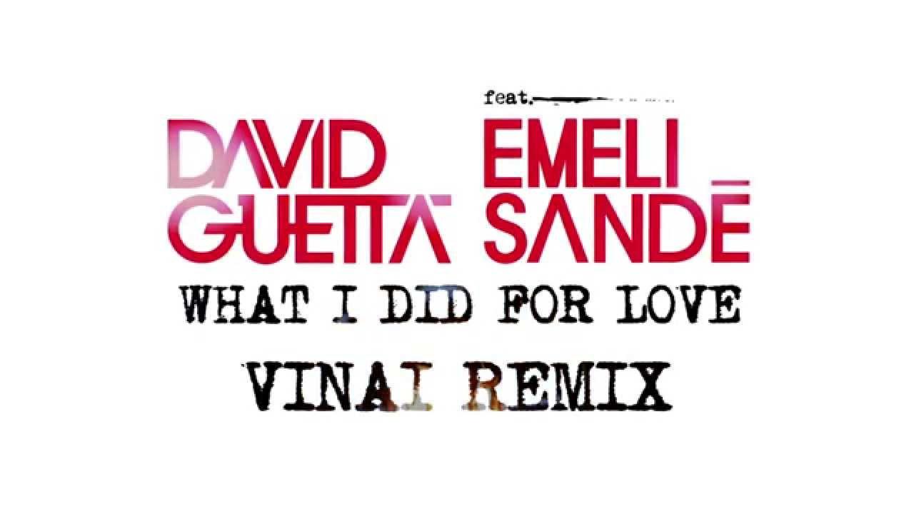 Download David Guetta - What I Did For Love (VINAI remix) TEASER ft Emeli Sandé
