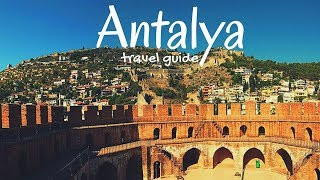 TURKEY Travel Guide | 5 best places in Antalya, that you must visit !!