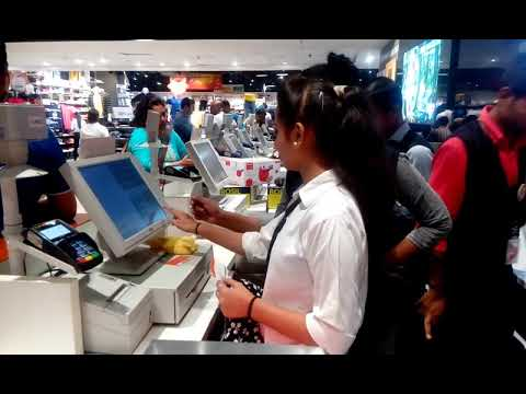 OJT,Big Bazaar ,Vasant Square Mall