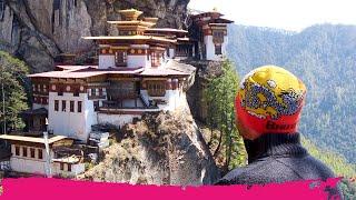 Hiking to TIGER'S NEST Monastery + Spicy BHUTANESE FOOD | Paro, Bhutan