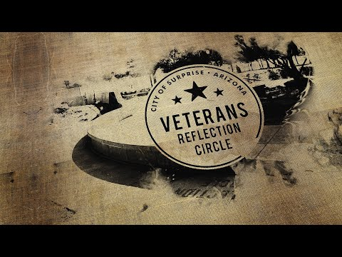 City of Surprise Veterans Reflection Circle video thumbnail