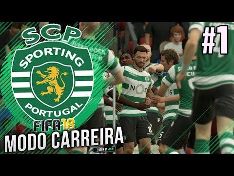 FIFA 18 Sporting Modo Carreira #1 - ESTE ANO É NOSSO!