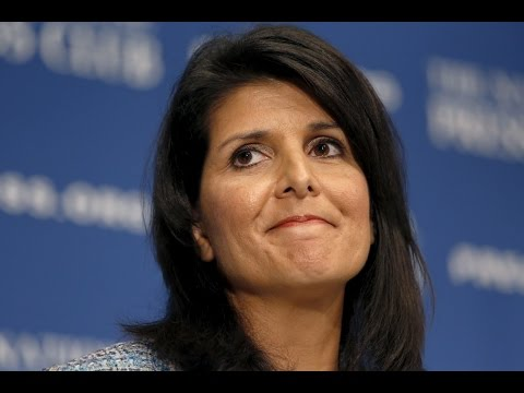 LIVE STREAM: US Ambassador Nikki Haley Holds News Conference Russia Donald Trump China North Korea