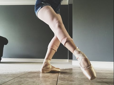 My New Capezio Pointe Shoes + Review And Demo!!! | Audrey Ann