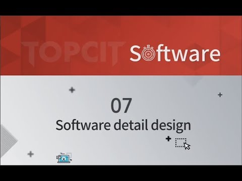 Topcit Software 07 Software Detail Design Youtube