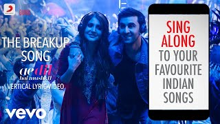 Gambar cover The Breakup Song - ADHM|Official Bollywood Lyrics|Arijit Singh|Badshah|Jonita Gandhi
